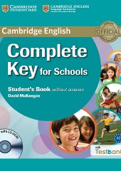 Complete Key for Schools Student's Book without Answers with CD with Testbank